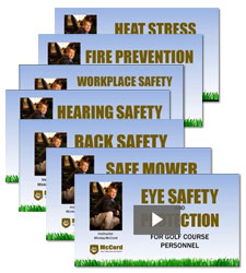 McCord Golf Safety Training Videos